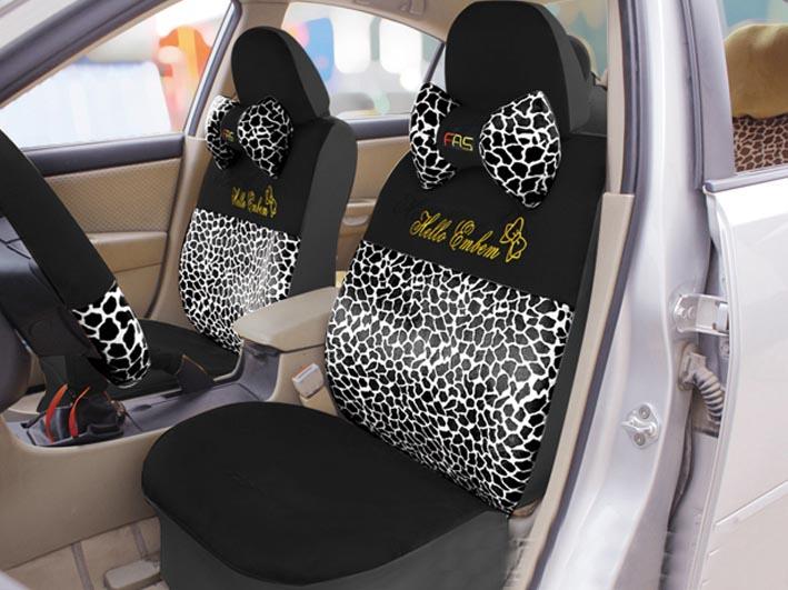 Чехлы на авто с вышивкой